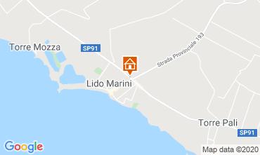 Kaart Lido Marini Villa 86584