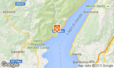 Kaart Toscolano-Maderno Huis 41928