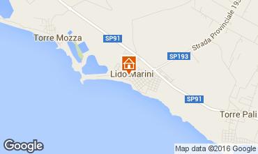 Kaart Lido Marini Villa 86623