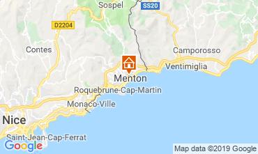 Kaart Menton Appartement 66868