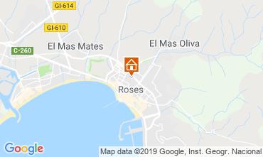 Kaart Rosas Appartement 78804