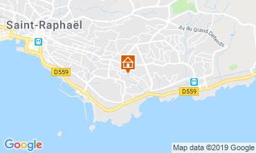 Kaart Saint Raphael Appartement 119326