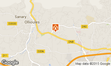 Kaart Ollioules Villa 89864