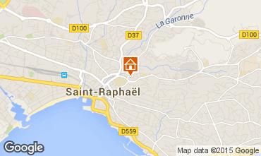 Kaart Saint Raphael Appartement 5623