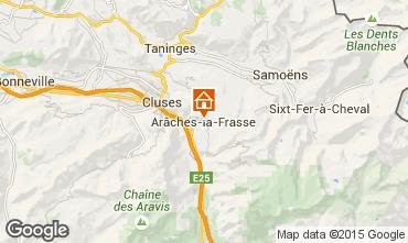 Kaart Les Carroz d'Araches Appartement 606