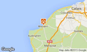 Kaart Wissant Vakantiehuis 91863