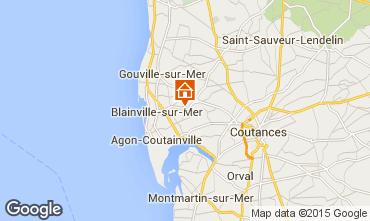 Kaart Blainville-sur-Mer Vakantiehuis 60256