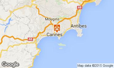 Kaart Cannes Appartement 72431