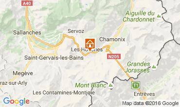 Kaart Chamonix Mont-Blanc Appartement 1407
