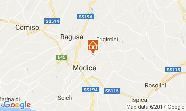 Kaart Modica Villa 109767