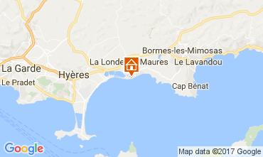 Kaart La Londe les Maures Appartement 110348