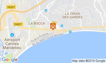 Kaart Cannes Appartement 95292