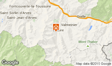 Kaart Valloire Chalet 49295