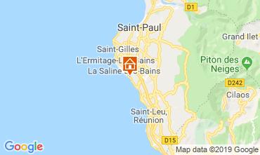 Kaart La Saline les Bains Appartement 119424