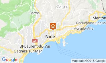 Kaart Nice Appartement 116620