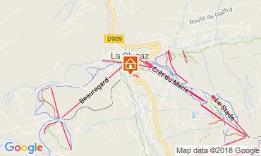 Kaart La Clusaz Chalet 113553