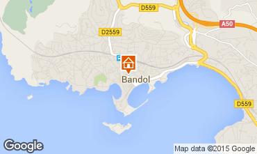 Kaart Bandol Appartement 63512