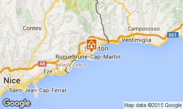 Kaart Roquebrune Cap Martin Appartement 56046