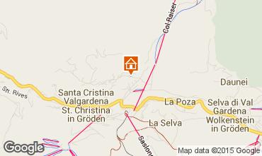 Kaart Santa Cristina Valgardena Studio 83248