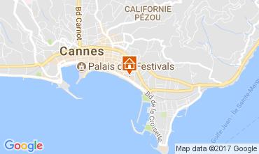 Kaart Cannes Appartement 5501