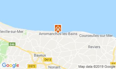 Kaart Arromanches Vakantiehuis 90681