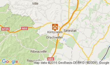 Kaart Kintzheim Vakantiehuis 105801