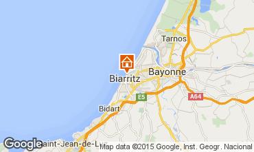Kaart Biarritz Appartement 24484