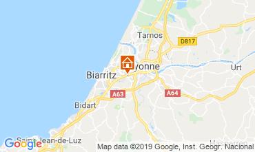 Kaart Biarritz Studio 6356