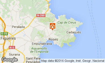 Kaart Rosas Villa 102783