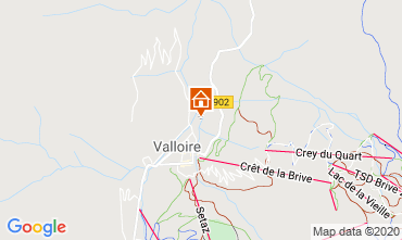 Kaart Valloire Chalet 38642