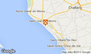 Kaart Saint Jean de Monts Huis 40409