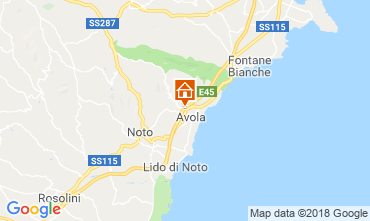 Kaart Avola Villa 117196
