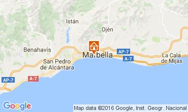 Kaart Marbella Appartement 77829