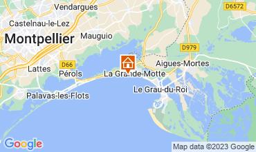 Kaart La Grande Motte Appartement 57110