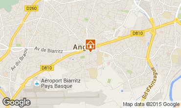 Kaart Biarritz Appartement 97208