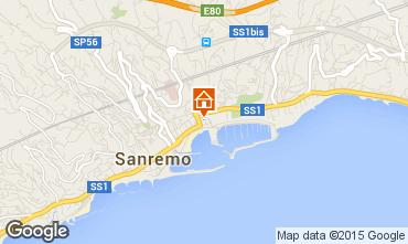 Kaart Sanremo Appartement 26342
