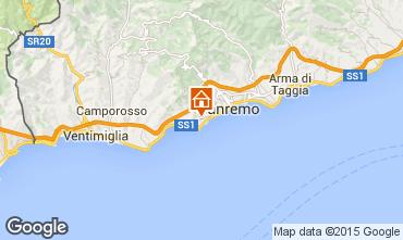 Kaart Sanremo Appartement 84648