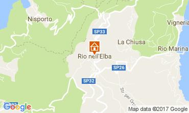 Kaart Rio nell'Elba Appartement 84392