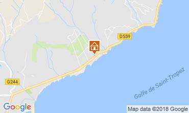 Kaart Saint Tropez Huis 93909