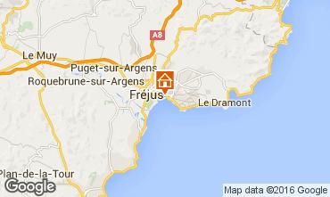 Kaart Fréjus Appartement 102592