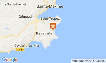 Kaart Ramatuelle Villa 114962