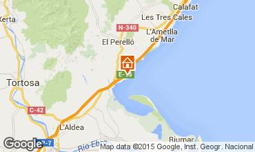 Kaart L'Ampolla Villa 9907