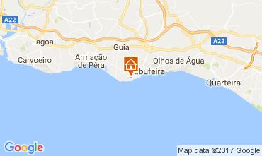 Kaart Albufeira Appartement 109918