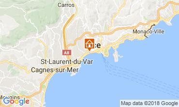 Kaart Nice Appartement 113014
