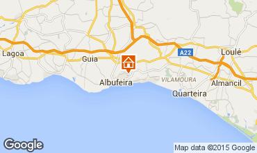 Kaart Albufeira Appartement 56482