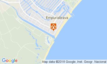 Kaart Empuriabrava Appartement 113176