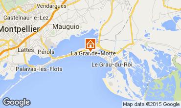 Kaart La Grande Motte Appartement 6053