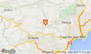 Kaart Cannes Villa 92568