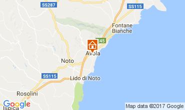 Kaart Avola Appartement 103583