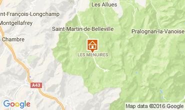 Kaart Les Menuires Appartement 91167